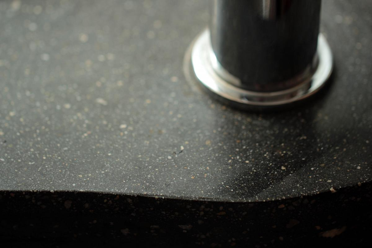 Concrete countertops can be built to suit all types of interior design