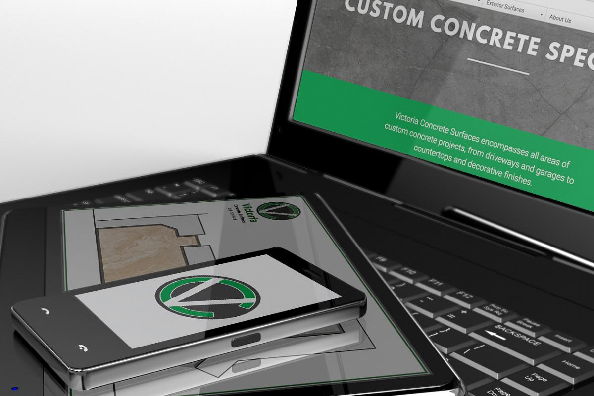 Contact the custom concrete specialists at Victoria Concrete Surfaces