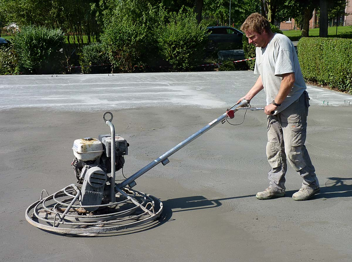 Power Trowel Concrete Floors • Victoria Concrete Surfaces