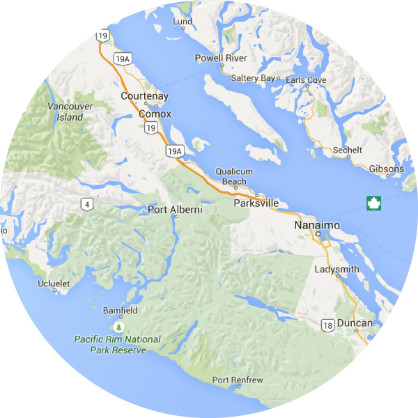 Central Vancouver Island
